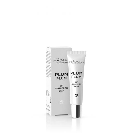 Madara Plum Plum Lip Perfection Balm 15 ml  (Lūpu balzāms)