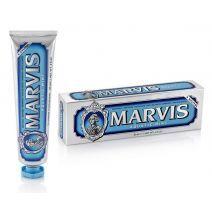 Marvis Aquatic Mint  Toothpaste  (Zobu pasta ar piparmētras un jūras svaigumu)