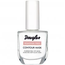 Douglas Nail Care Remover Free Contour Mask 10 ml  (Palīglīdzeklis perfektai nagu lakas uzklāšanai)