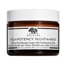 rigins High-Potency Night-A-Mins™ Oil-Free Resurfacing Cream With Fruit-Derived AHA  (Nakts krēms se