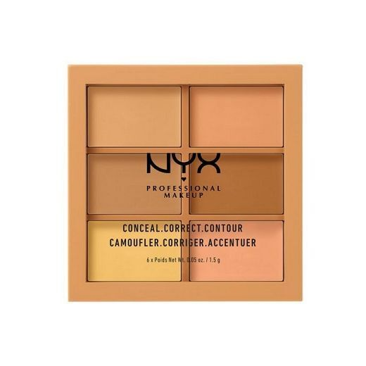 NYX Professional Makeup 3C Palette  (Konturēšanas palete)
