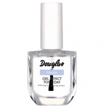 Douglas Nail Care Finish Gel Effect Top Coat 10 ml  (Nagu lakas pārklājums)