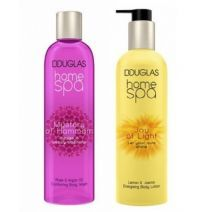 Douglas Home SPA Mystery Of Hammam Body Wash + Joy Of Light Body Lotion  (Ķermeņa kopšanas komplekts