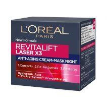 L'Oreal Paris Revitalift Laser X3 Night Cream  (Nakts sejas krēms)