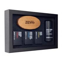 ZEW for Men The Bearded Man's  Set  (Dāvanu komplekts vīrietim)