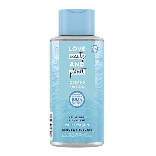 Love Beauty and Planet Ocean Shampoo  (Jūras aļģu un eikalipta jūras mitrinošs šampūns)