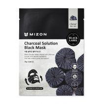 Mizon Charcoal Solution Black Mask  (Sejas maska)