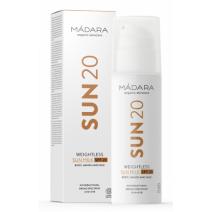 Madara Weightless Sun Milk SPF 20  (Saules aizsardzības pieniņš SPF 20)