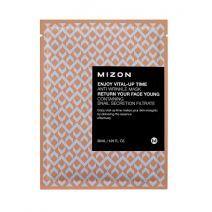 Mizon Enjoy Vital-Up Time Anti-Wrinkle Mask  (Atjaunojoša sejas maska)