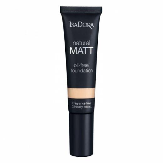 IsaDora Natural Matt Oil-Free Foundation 35 ml Nr. 10 (Matējošs tonālais krēms)