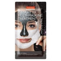 Purederm Galaxy 2x Multi-Masking Treatment Black & White  (Mitrinoša sejas maska)