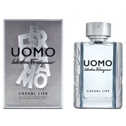 Salvatore Ferragamo Uomo Casual Life  (Tualetes ūdens vīrietim)