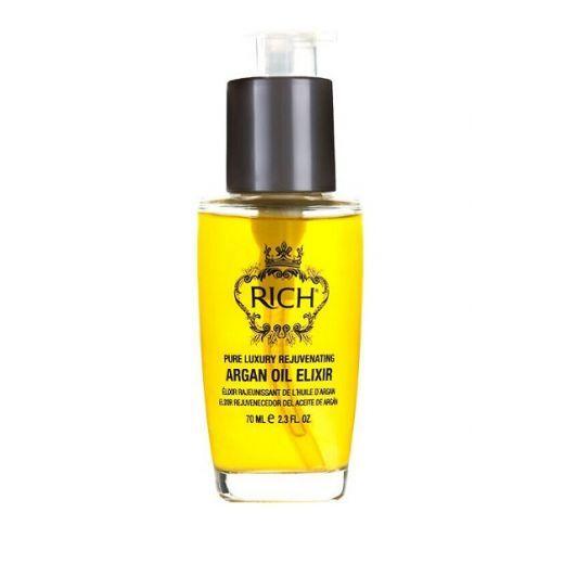 Rich Pure Luxury Rejuvenating Argan Oil Elixir  (Ar argana eļļu bagātināts matu eliksīrs)
