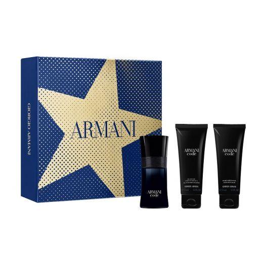 Giorgio Armani Armani Code X-Mas Set`19  (Aromāta dāvanu komplekts vīrietim)