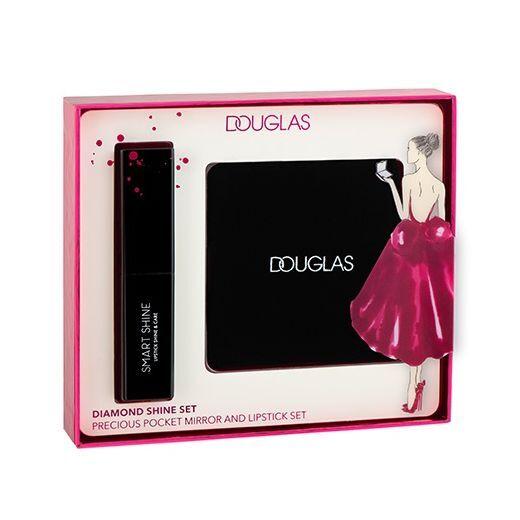Douglas Make Up Diamond Shine Set  (Lūpu krāsas komplekts)