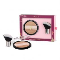 Douglas Make Up Aquarelle Powder Set  (Pūdera komplekts)