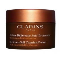 Clarins Delicious Self Tanning Cream  (Paštonējošs krēms ķermenim)