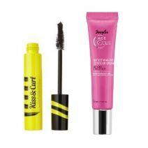 Douglas Focus Age Smoothing Eye Contour Cream + Kiss & Curl Mascara  (Komplekts acu un skropstu