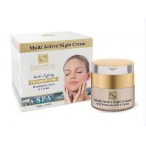 Health and Beauty Multi Active Night Cream  (Atjaunojošs nakts krēms sejai)