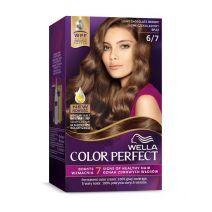 Wella Color Perfect 6/7 Light Chocolat Brown  (Matu krāsa)