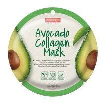 Purederma Avocado Collagen Mask  (Avokado kolagēna maska)