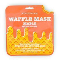 Kocostar Waffle Mask Maple  (Balinoša sejas maska)