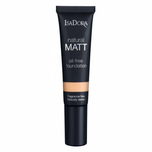 IsaDora Natural Matt Oil-Free Foundation 35 ml Nr. 12 (Matējošs tonālais krēms)