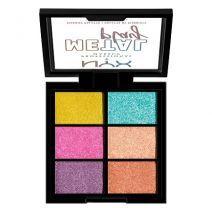 NYX Professional Makeup Metal Play Pigment Palette  (Acu ēnu palete)