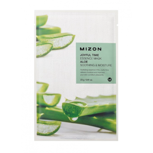 Mizon Joyful Time Essence Mask Aloe   (Sejas maska ar alveju)