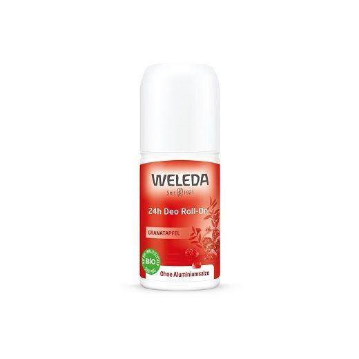 Weleda Pomegranate 24h Roll-On Deodorant  (Granātābolu 24 h iedarbības dezodorants ar rullīti)
