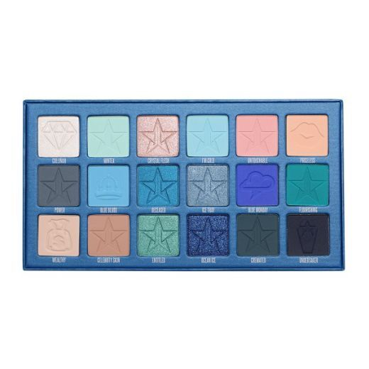 Jeffree Star Cosmetics Blue Blood Eyeshadow Palette   (Acu ēnu palete)