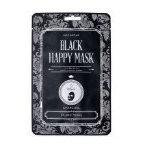 Kocostar Black Happy Mask  (Attīroša auduma maska)