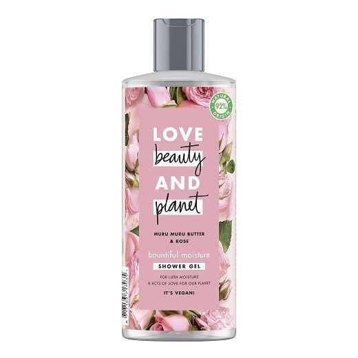 Love Beauty and Planet Muru Muru Butter & Rose Shower Gel   (Mitrinoša dušas želeja)