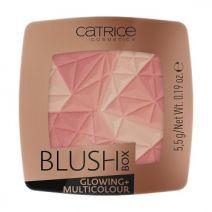Catrice Cosmetics Blush Box Glowing + Multicolour  (Vaigu sārtums)