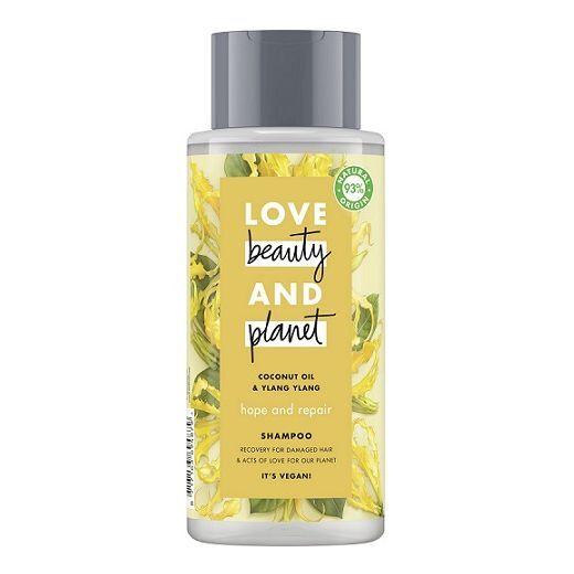Love Beauty and Planet Coconut Oil & Ylang Ylang Shampoo  (Atjaunojošs šmpūns matiem)
