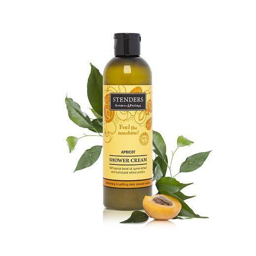 STENDERS Apricot Shower Cream  (Aprikožu dušas krēms)