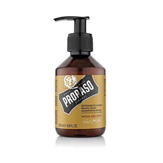 Proraso Beard Wash Wood & Spice   (Šampūns bārdai)