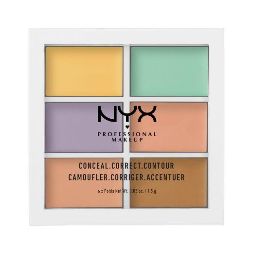 NYX 3C Palette (Konturēšanas palete)
