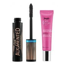 Douglas Focus Age Smoothing Eye Contour Cream + Lash Augmented Mascara Waterproof  (Komplekts acu un