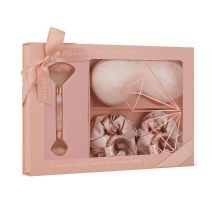 Crystallove Rose Quartz Home SPA Set  (Komplekts)