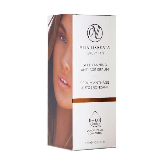 Vita Liberata Self Tanning Anti Age Serum  (Paštonējošais serums sejai)
