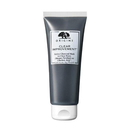 Origins Clear Improvement™ Active Charcoal Mask To Clear Pores  (Attīroša sejas maska)