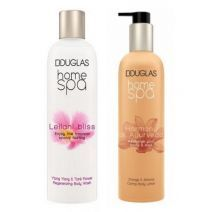 Douglas Home SPA Leilani Bliss Regenerating Body Wash + Harmony Of Ayurveda Body Lotion  (Ķermeņa ko