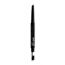 NYX Professional Makeup Fill & Fluff Eyebrow Pomade Pencil  (Divpusīgs uzacu zīmulis)