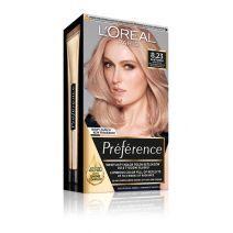 L'Oreal Paris Preference Hair Color 8.23 Medium Rose Gold  (Matu krāsa)