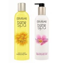 Douglas Home SPA Joy Of Light Body Wash + Leilani Bliss Regenerating Body Lotion  (Ķermeņa kopšanas