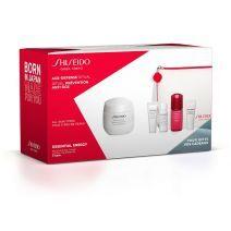 Shiseido Essential Energy Moisturizing Cream Pouch Set  (Sejas kopšanas komplekts)