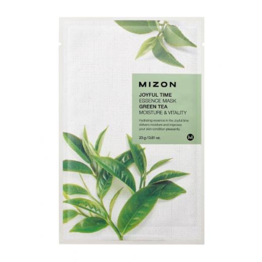Mizon Joyful Time Essence Mask Green Tea  (Seja maksa ar zaļo tēju)