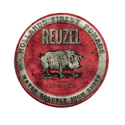 Reuzel Red High Sheen Pomade   (Pomāde matu spīdumam)