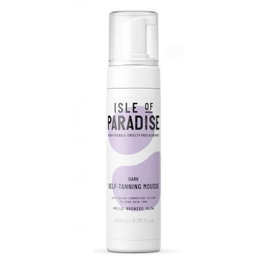 Isle of Paradise Dark Self Tanning Mousse  (Paštonējošās putas)